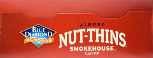 Blue Diamond Smokehouse Nut-Thins Crackers Perspective: top