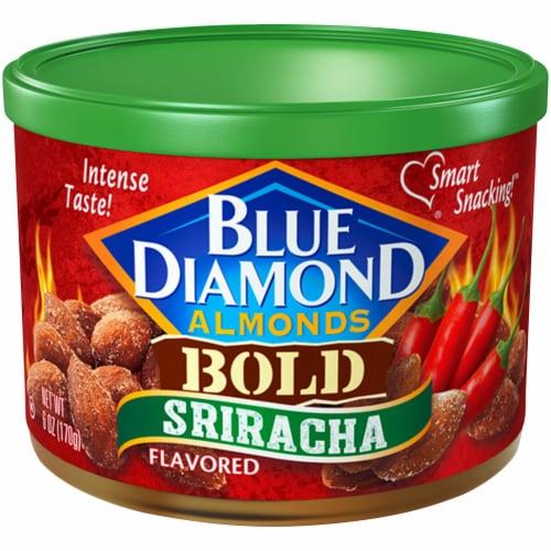Blue Diamond Bold Sriracha Almonds Perspective: top