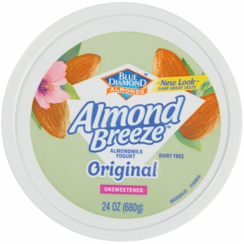 Blue Diamond Almond Breeze Original Almondmilk Yogurt Alternative Perspective: top