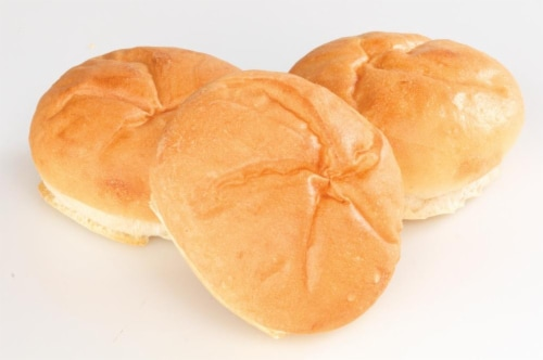 Bakery Fresh Kaiser Rolls 6 Count Perspective: top