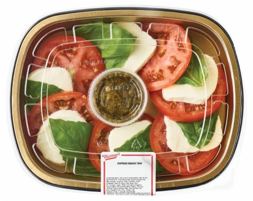 Murray's Caprese Snack Tray Perspective: top