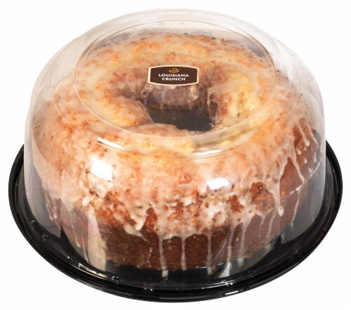 Bakery Fresh Goodness Louisiana Crunch Pudding Cake Perspective: top