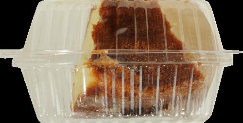 Kroger® Lemon Pudding Cake Slice Perspective: top