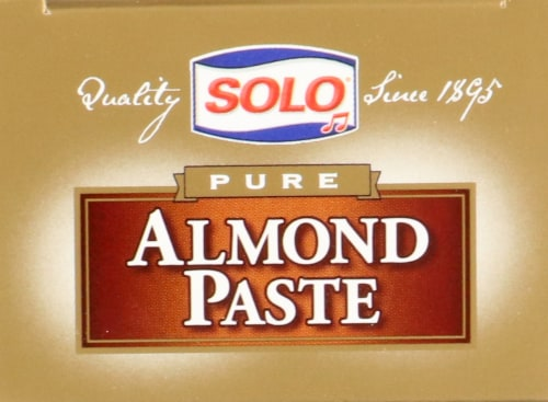 Solo Pure Gluten Free Almond Paste Perspective: top