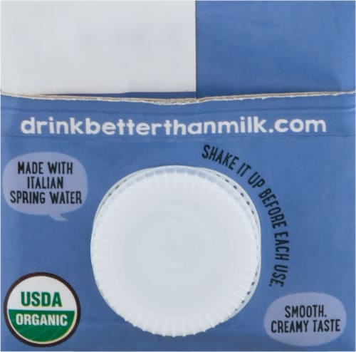 Better Than Milk® Organic Unsweetened Rice Drink Perspective: top