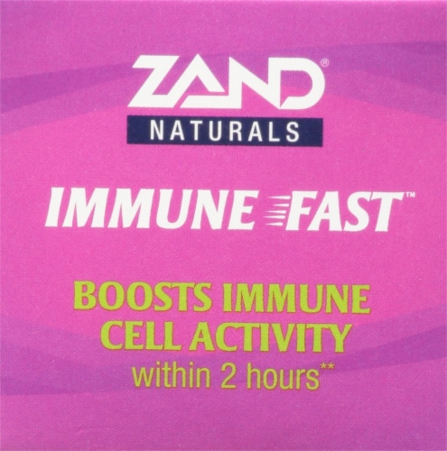 Zand® Naturals Sweet Elderberry Immune Fast Chewable Tablets Perspective: top