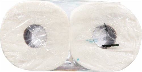 Brawny® Tear-A-Square Double Paper Towel Rolls Perspective: top