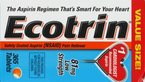 Ecotrin Low-Strength Tablets Perspective: top