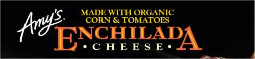 Amy's® Gluten Free Cheese Enchilada Frozen Meal Perspective: top
