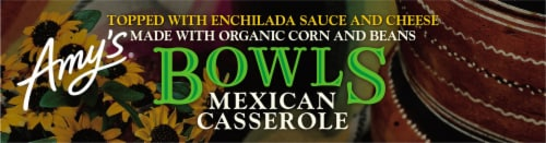 Amy's® Gluten Free Mexican Casserole Bowl Perspective: top
