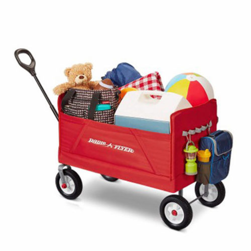 Radio Flyer Off-Road EZ Fold Collapsible Wagon Fabric/Steel - Case Of: 1; Perspective: top