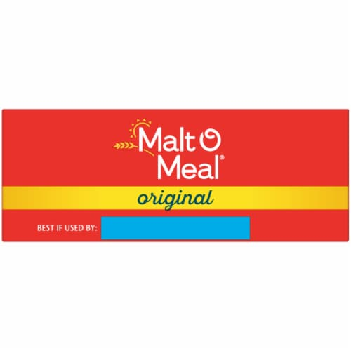 Malt-O-Meal Original Quick Cooking Hot Wheat Cereal Perspective: top