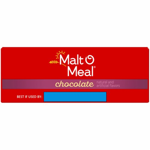 Malt-O-Meal Chocolate Hot Wheat Cereal Perspective: top
