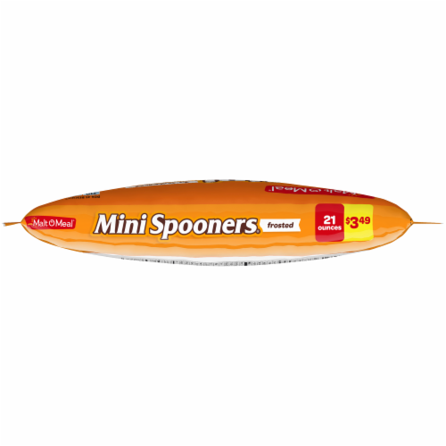 Malt-O-Meal® Frosted Mini Spooners® Cereal Perspective: top