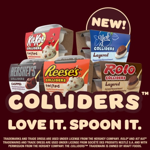 Colliders™ Hershey's Chopped Chocolate Dessert Perspective: top