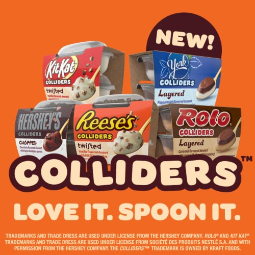 Colliders™ Reese's Layered Peanut Butter & Chocolate Dessert Perspective: top