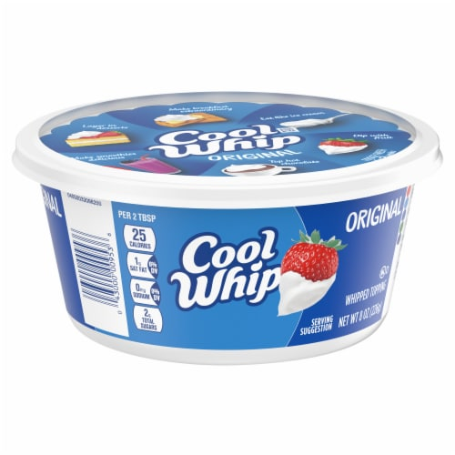 Cool Whip Original Whipped Topping Perspective: top