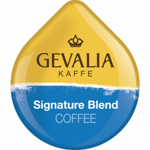 Tassimo Gevalia Kaffe Signature Blend Medium Roast Coffee T Discs Perspective: top