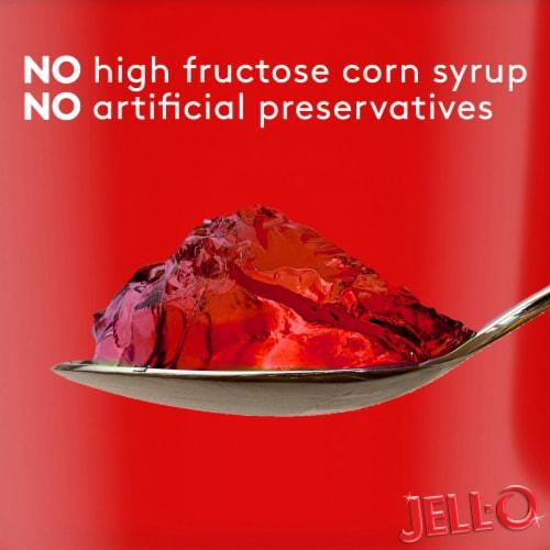 Jell-O® Sugar Free Strawberry Gelatin Snacks Perspective: top