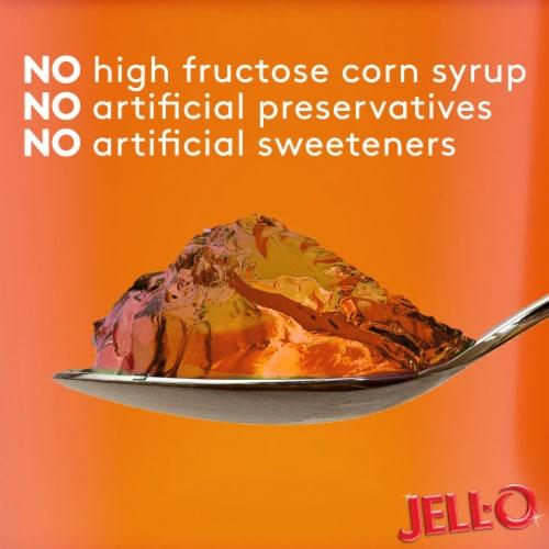 Jell-O Ready-to-Eat Orange Gelatin Snacks Perspective: top