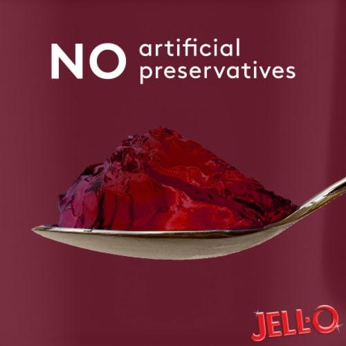 Jell-O® Sugar Free Black Cherry Gelatin Snacks Perspective: top