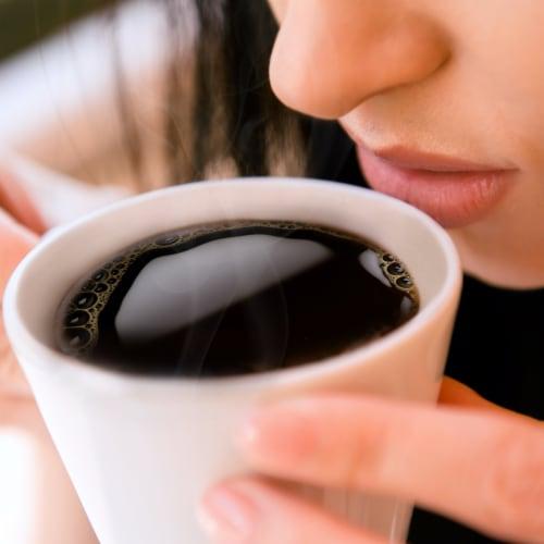 McCafe Decaf Premium Medium Roast Ground Coffee Perspective: top