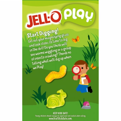 Jell-O Play Chocolate Dirt Dessert Kit Perspective: top