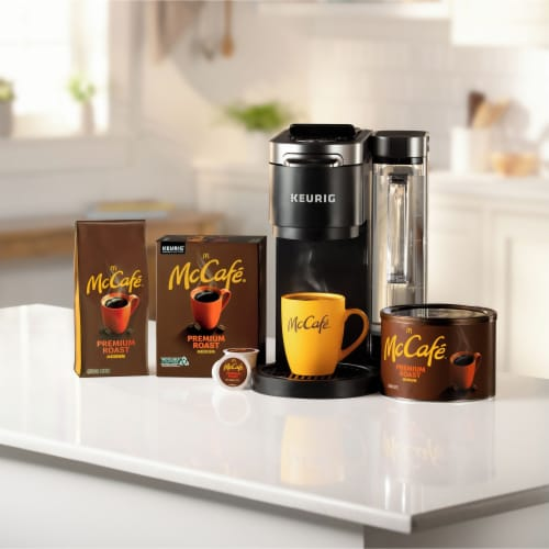 McCafe Premium Medium Roast Ground Coffee Perspective: top