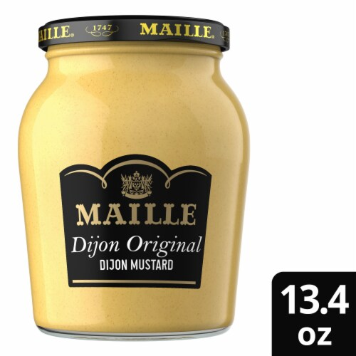 Maille Traditional Dijon Originale Mustard Perspective: top