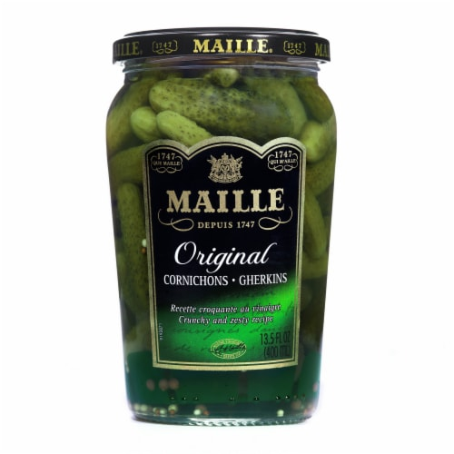 Maille Cornichons Extra Fine Gherkins Perspective: top