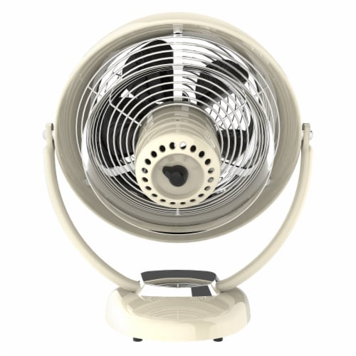 Vornado VFAN Sr. Vintage Air Circulator Fan - Vintage White Perspective: top