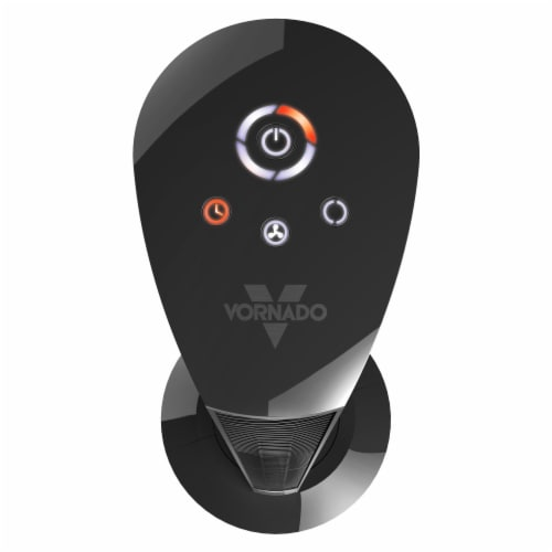 Vornado Oscillating Tower Fan - Black Perspective: top