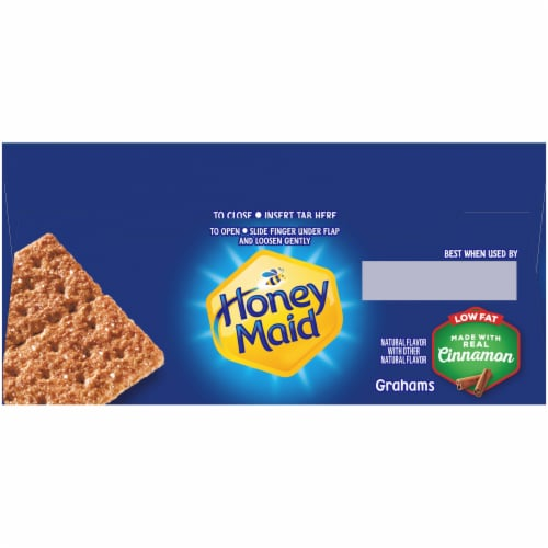 Honey Maid Low Fat Cinnamon Graham Crackers Perspective: top