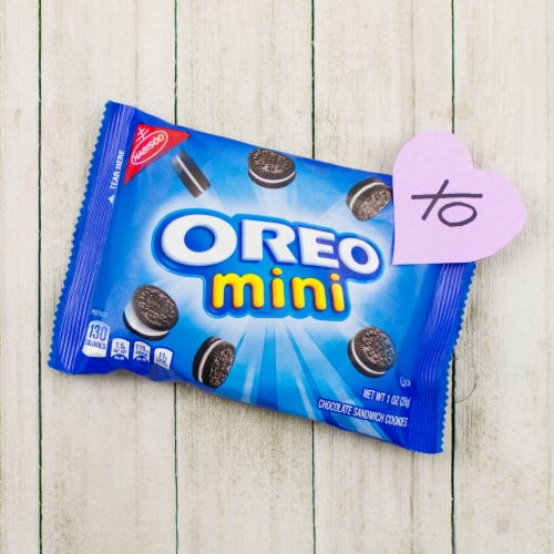 Nabisco Mini Cookies Variety Pack Perspective: top