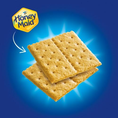 Honey Maid Fresh Stacks Graham Crackers Perspective: top