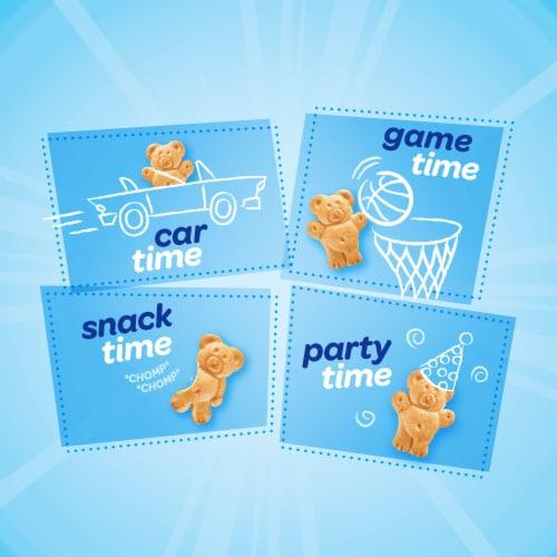 Teddy Grahams Honey Graham Snacks Go-Pak Perspective: top