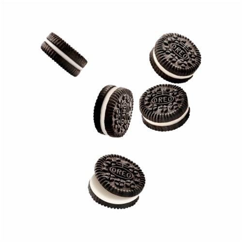 Oreo Mini Chocolate Sandwich Cookies Go-Pak Perspective: top