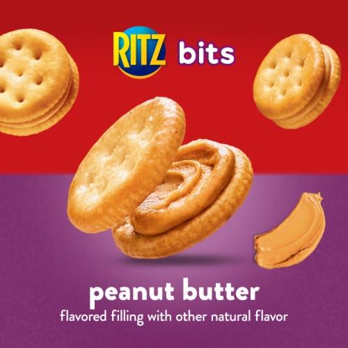 Ritz Bits Peanut Butter Cracker Sandwiches Perspective: top
