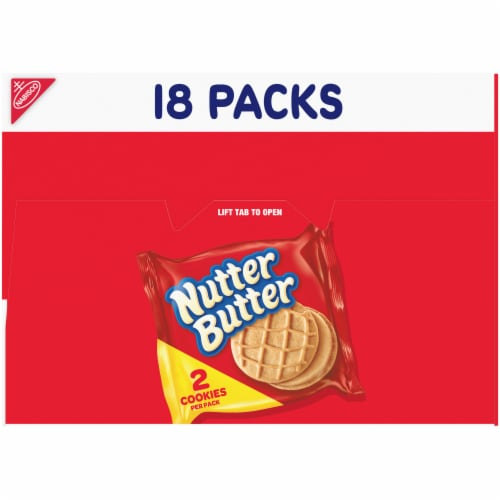 Nutter Butter Peanut Butter Sandwich Cookies Perspective: top