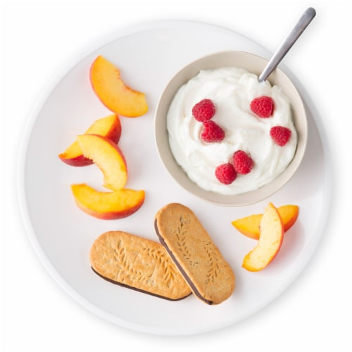 belVita Sandwich Dark Chocolate Creme Breakfast Biscuits Perspective: top