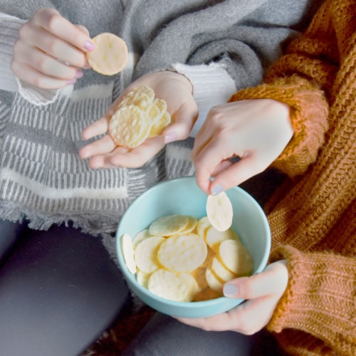 Good Thins Gluten Free Simply Salt Rice Snacks Perspective: top