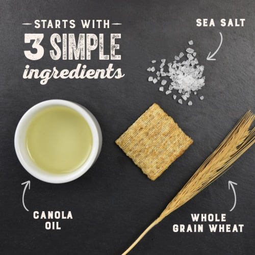 Triscuit Reduced Fat Crackers Family Size Perspective: top