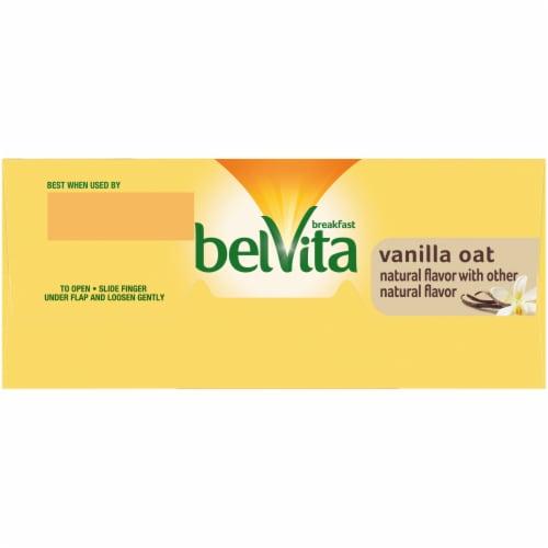 belVita Vanilla Oat Breakfast Biscuits Perspective: top