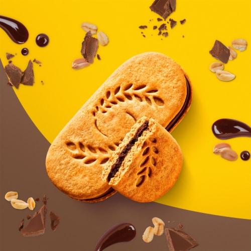 belVita Sandwich Dark Chocolate Creme Breakfast Biscuits Perspective: top