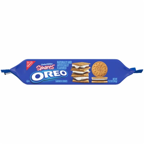 Oreo S'mores Cookies Perspective: top