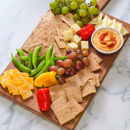 Wheat Thins Original Snack Crackers Perspective: top