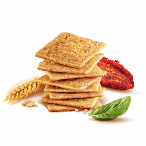 Nabisco Wheat Thins Sundried Tomato & Basil Crackers Perspective: top