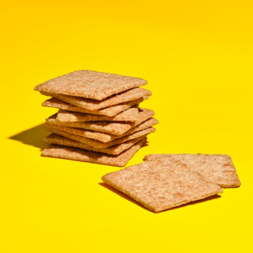 Nabisco Wheat Thins Reduced Fat Crackers Perspective: top