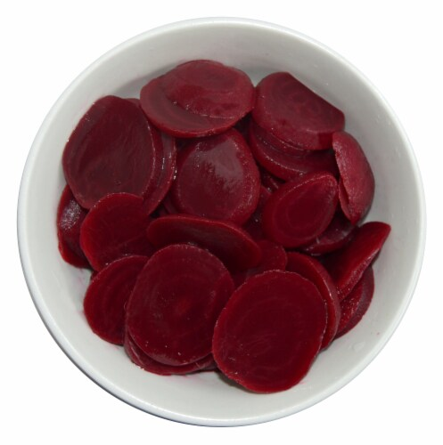 Aunt Nellie's® Sliced Pickled Beets Perspective: top