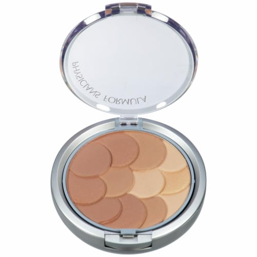 Physicians Formula Magic Mosaic 3846 Light Multi-Colored Bronzer Pressed Powder Perspective: top